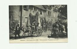 """19 - UZERCHE - Fetes Fleuries Aout 1922 Voiturette Fleurie """" Troubadour Limousin"""" Belle Animation Bon état - Uzerche"""
