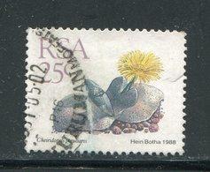 AFRIQUE DU SUD- Y&T N°667- Oblitéré (plantes Grasses) - Afrique Du Sud (1961-...)