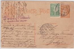 Portugal -circulou  De Thomar Para Golegã 18 Agosto 1921 - Portogallo