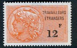 Timbre Fiscal (fiscaux) - Travailleurs Etrangers N° 16 Neuf - Fiscaux