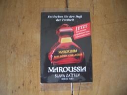 Carte Slava Zaitsev Maroussia S/cello* - Cartes Parfumées