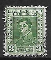 URUGUAY    -   1934  .   Y&T N° 468 Oblitéré .  Rivera - Uruguay