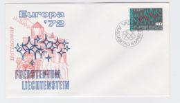 Liechtenstein 1972 FDC Europa CEPT (T11-37) - Europa-CEPT