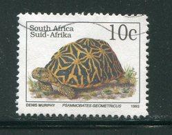 AFRIQUE DU SUD- Y&T N°810- Oblitéré (tortues) - Oblitérés
