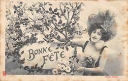 PIE.LOT CH -19-4743 : EDITION BERGERET EDITEUR A NANCY.  BONNE FETE. - Cartes Postales