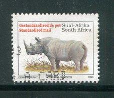AFRIQUE DU SUD- Y&T N°813- Oblitéré (rhinocéros) - Oblitérés