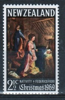 New Zealand Single Stamp Issued In 1969 To Celebrate Christmas - New Zealand