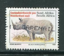 AFRIQUE DU SUD- Y&T N°813A- Oblitéré (rhinocéros) - Oblitérés