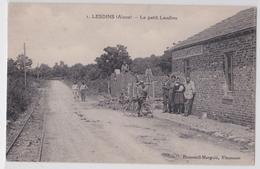 LESDINS (Aisne) - Le Petit Lesdins - Boucherie Estaminet Epicerie - Frankreich