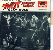 Pochette Sans Disque De Clay Cole - Twist Around The Clock - Polydor 27737 - 1962 - Accessoires, Pochettes & Cartons