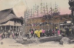LAOS - WELL ANIMATED POSTCARD 1906. - Laos