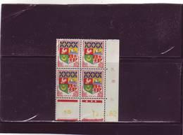 N° 1230A - 0,05F Blason D'ORAN - A De A+B -5° Tirage/1° Partie Du 22.1.62 Au 11.4.62 - 15.02.1962 - - Coins Datés