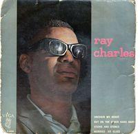 Pochette Sans Disque - Ray Charles - Unchain My Heart  Véga ABC 45.90.895 - 1962 - Zubehör & Versandtaschen