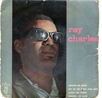Pochette Sans Disque - Ray Charles - Unchain My Heart  Véga ABC 45.90.895 - 1962 - Accessoires, Pochettes & Cartons