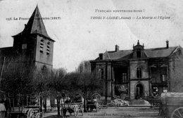 (104) CPA   Trosly Loire  La Mairie Et L'eglise    (Bon état) - Autres Communes