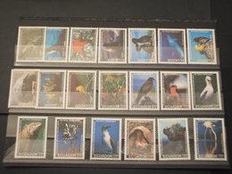 ECUADOR - 1999 DARWUIN/FAUNA 10+10 VALORI - NUOVI(++) - Ecuador