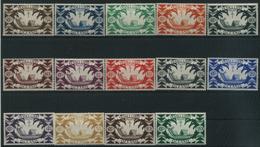 1942 Oceania, Serie Di Londra, Serie Completa Nuova (*) Linguellata - Oceania (1892-1958)