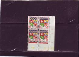 N° 1230A - 0,05F Blason D'ORAN - A De A+B -5° Tirage/1° Partie Du 22.1.62 Au 11.4.62 - 23.02.1962 - - Coins Datés