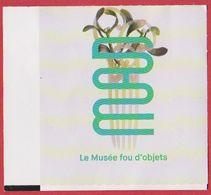 """Musée Des Arts Décoratifs. MAD. Visuel: Peigne """"gui"""" Art Nouveau. Paris. France. 2019. - Tickets D'entrée"""