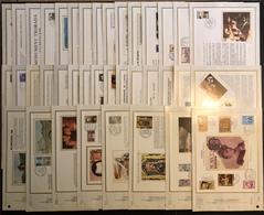 Andorre Document - FDC - Premier Jour - Lot De 38 Documents - FDC