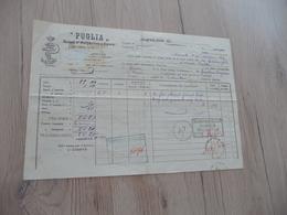 Connaissement Italie Italia Puglia Societa Di Navigazione A Vapore 25/02/1901 Marseille à Venise - Italy