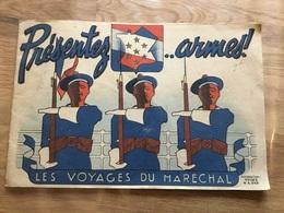 Livret De Dessins Les Voyages Du Maréchal état Français 1939-45 - 1939-45