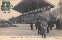 95-ENGHIEN-LES-BAINS- LE CHAMP DE COURSES LES TRIBUNES - Enghien Les Bains