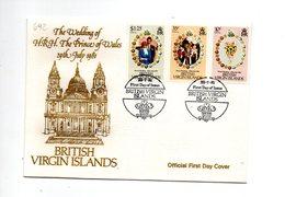 LAB692 - VIRGIN VERGINI 1981 , Royal Wedding   Charles Diana Su FDC - British Virgin Islands