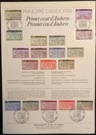 Andorre Document - FDC - Premier Jour - YT Nº 316 à 324 - 1983 - FDC