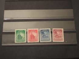 PARAGUAY - 1940 ILLUSTRE 4 VALORI  - NUOVI(++) - Paraguay