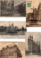 LOT 500 CARTES POSTALES BELGIQUE AVANT 1905. Dos Non Divisé / LOT 500 POSTCARDS BELGIUM BEFORE 1905. Back Not Divided - Postcards