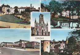 CERIZAY. - Multivues. Carte RARE - Cerizay