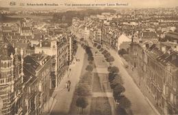 CPA - Belgique - Brussels - Bruxelles - Schaerbeek - Vue Panoramique Et Avenue Louis Bertrand - Schaarbeek - Schaerbeek