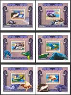 A{163} Guinea 2009 Turtles 6 S/S Deluxe MNH** - Guinea (1958-...)
