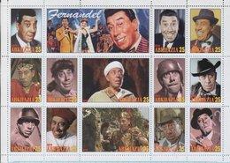 Abkhazia / Stamps / Private Issue Fernandel. French Movie Stars. 2018. - Vignettes De Fantaisie