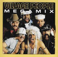 Disque Vinyle 45 Tours : VILLAGE  PEOPLE :  Mégamix..Scan B  : Voir 2 Scans - Collectors