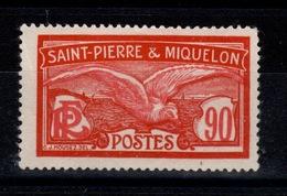 SPM - YV 129 NSG (*) Pas Aminci Cote 50 Euros - St.Pierre & Miquelon