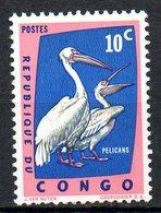 CONGO. N°481 De 1961. Pélican. - Pélicans