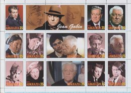 Abkhazia / Stamps / Private Issue Jean Gabin. French Movie Stars. 2018. - Vignettes De Fantaisie