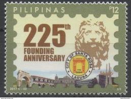 PHILIPPINES, 2017, MNH, SANTA ROSA CITY, LIONS, 1v - Geography