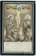 Doodsprentje/Image Mortuaire. Apolline Philippe/Hayaux.  Chanly  1844/1899 - Images Religieuses
