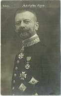 Carte Photo. Adolphe Max. Décoration Et Médaille. - Personnages
