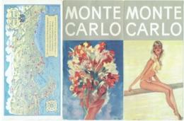 Dépliant Touristique. Monaco. Monte Carlo. - Dépliants Touristiques