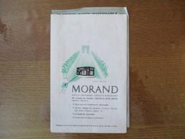 NEUILLY SUR SEINE MORAND BIJOUX-ORFRVRERIE-CRISTAUX-PORCELAINES 28 AVENUE DE NEUILLY DEPLIANT PUBLICITAIRE - Publicités