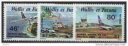Wallis, PA N° 089 à N° 091** Y Et T, 89 / 91 - Poste Aérienne
