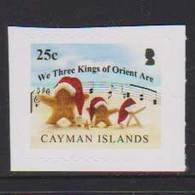 CAYMAN ISLANDS, 2018, MNH, CHRISTMAS, MUSIC,  STARFISH, 1v S/A  Ex. BOOKLET - Christmas