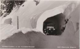 Bt - Cpa Autriche - Schneetunnel An Der Flexenstrasse (belle Voiture) - Andere