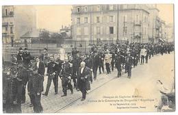 NANCY (54) Obsèques Du Capitaine Marchal Victime Dirigeable République 1909 - Nancy