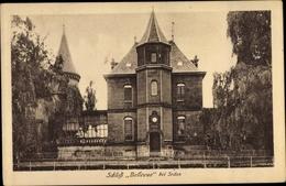 Cp Sedan Ardennes, Schloss Bellevue - France
