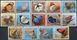 BOTSWANA 2007 Butterflies Insects Animals Fauna MNH - Schmetterlinge